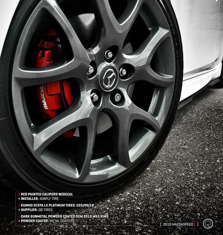 For Sale 2008 Mazdaspeed 3 Wheels: Mazda, Mazda 3 Sport, Mazda 3 2008