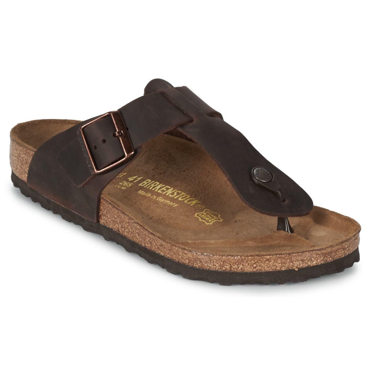 Zapatos grises casual Birkenstock Amsterdam para hombre aE43Ipm5hF