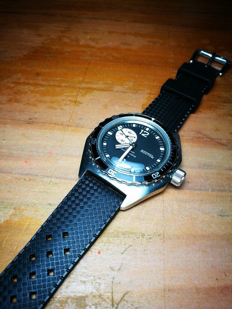 Tropic Rubber Strap - Nodus Watch Company