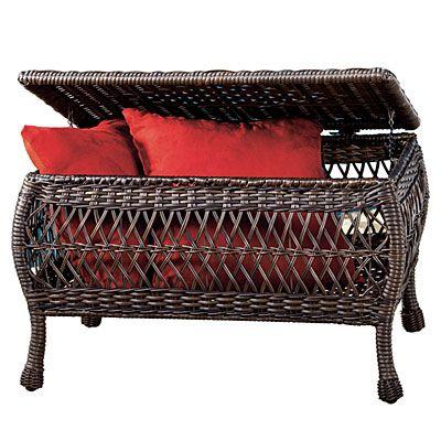 Best Wilson Fisher® Savannah Resin Wicker Storage Coffee 400 x 300