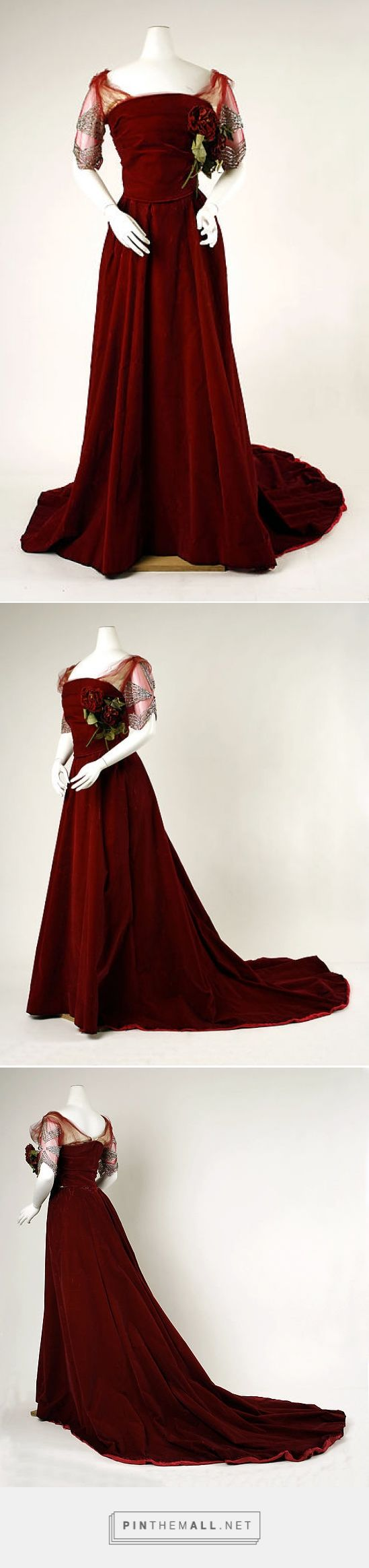 Evening dress by House of Worth 1898-1900 French   The Metropolitan Museum of Art