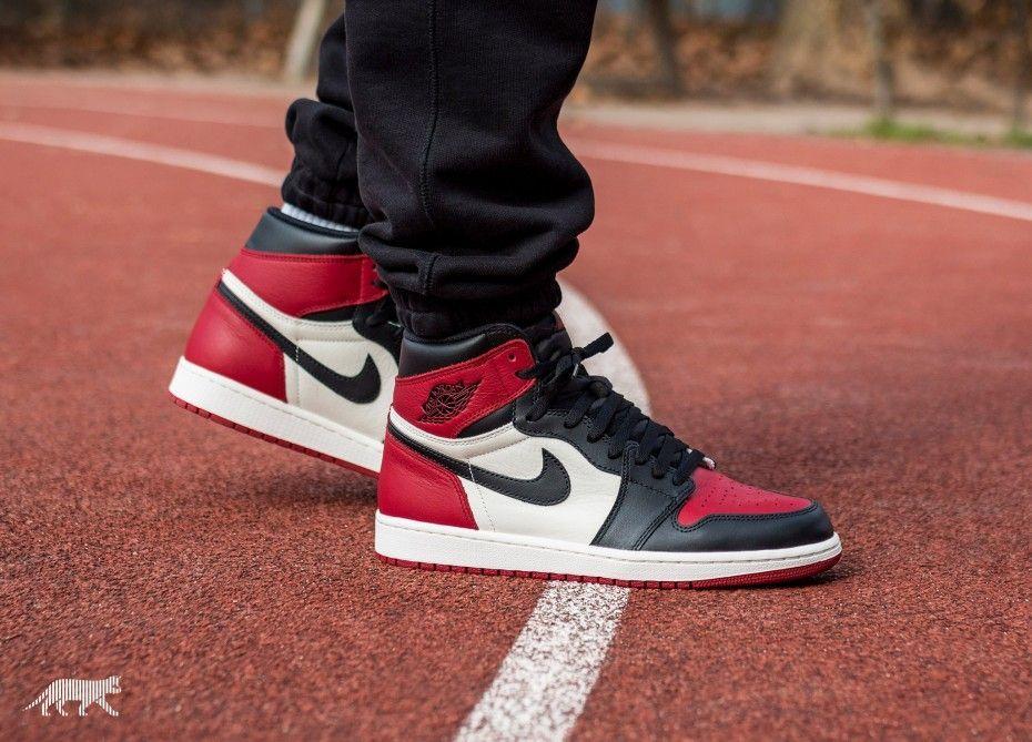 Air Jordan 1 High Og Bred Toe Air Jordans Air Jordan Sneakers Sneaker Head