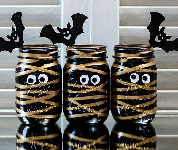 30 beste Halloween-Einmachglas-Ideen, um jeden zu beeindrucken – Dekorations Design