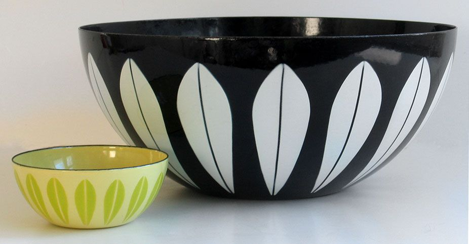 Cathrineholm Enamelware Bowl Enamelware Scandinavian