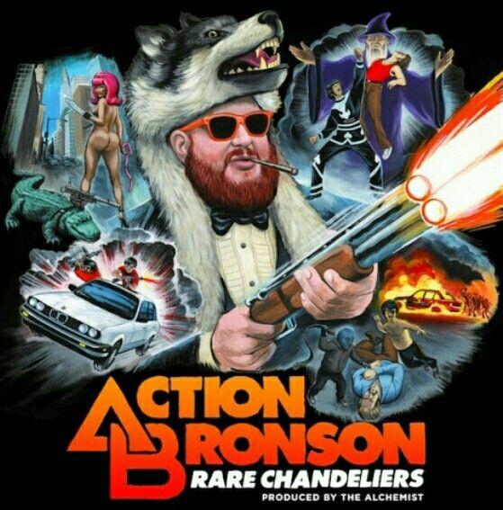"Action Bronson announces new album ""White Bronco,"" coming ...  |Action Bronson Album Cover"