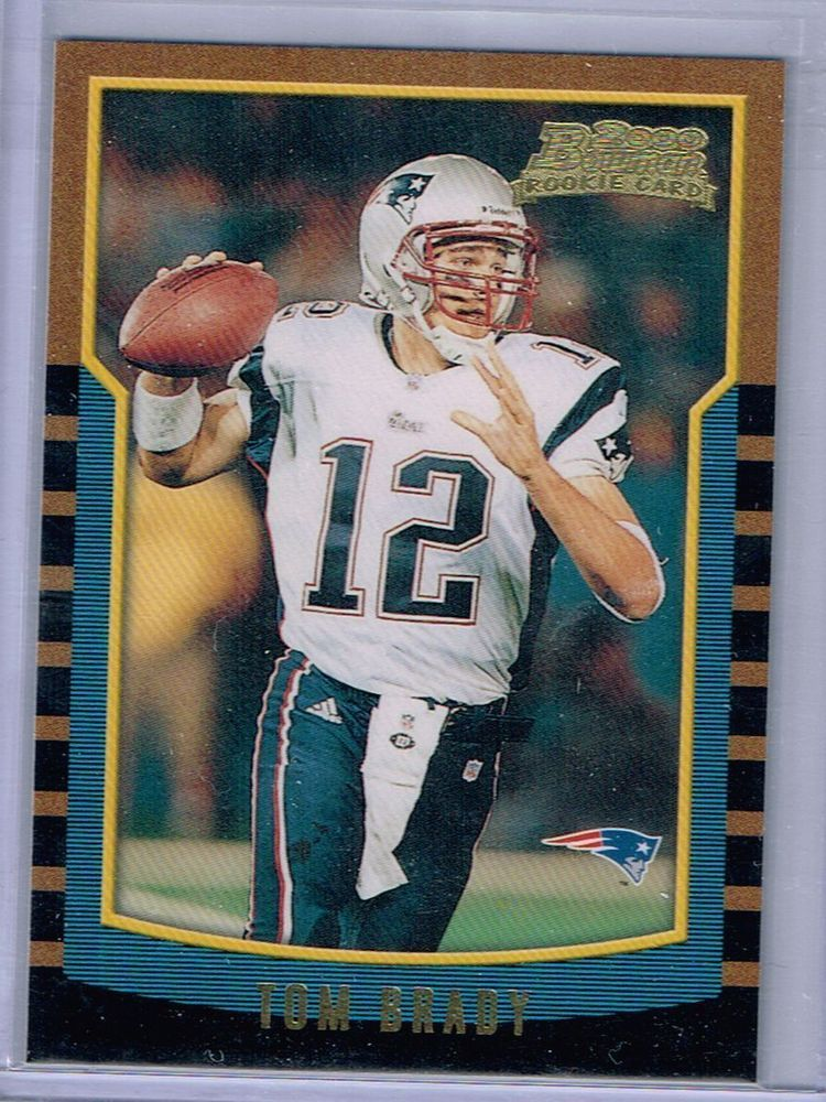 2000 Bowman Tom Brady Rookie Card 236 Mint From Pack
