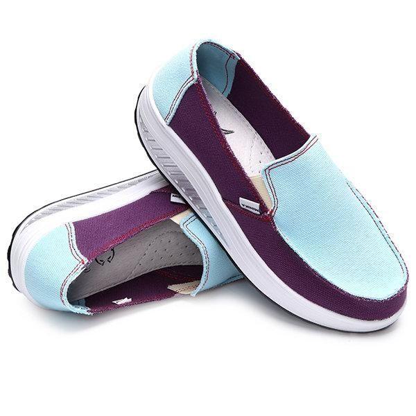 Rocker Sole Shoes Women Slip On Sport Casual Running
