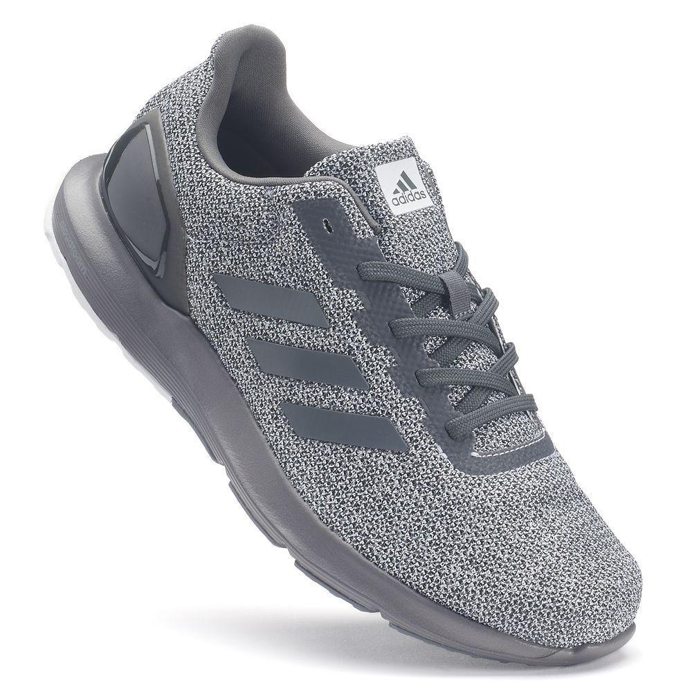 Adidas Cosmic Men's Running Shoes, Size: 10.5, Dark Grey