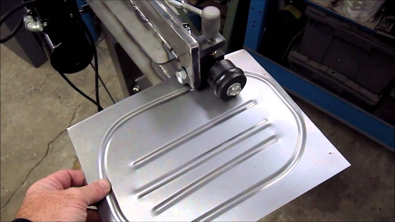 Upgraded Harbor Freight Bead Roller-updated | Aluminum