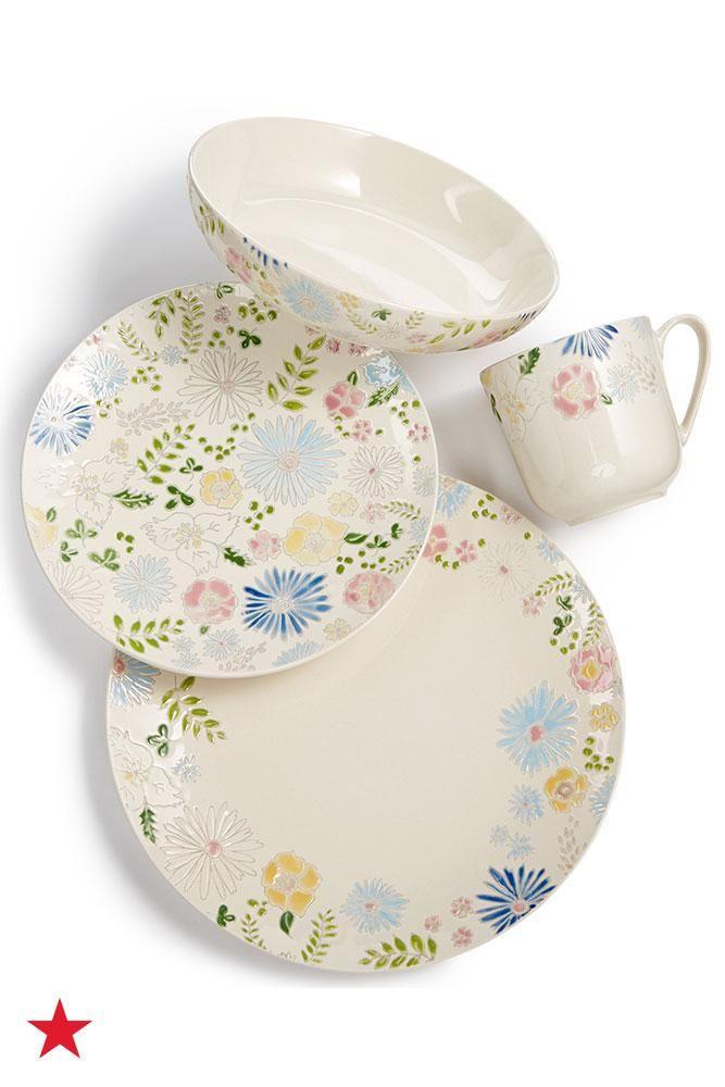 This Stoneware Dinnerware Set From Martha Stewart Collection Is