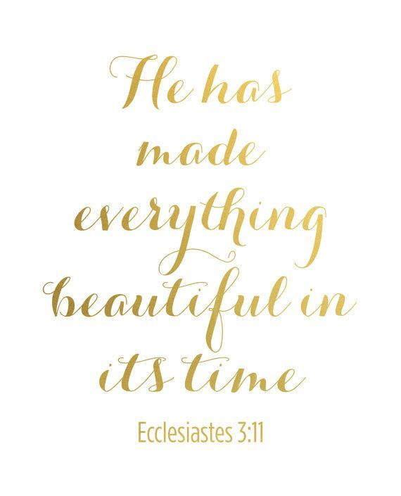 Items similar to Bible Verse Print Gold Art Scripture Print Gold Foil Print Bible Verse Art Christian Quote Gold Ecclesiastes 311 Scripture Art Art on Etsy Items similar...