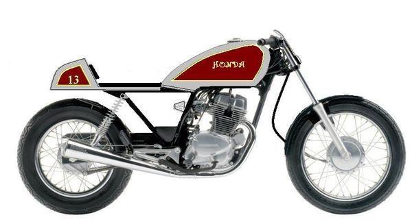 Motorcycles Honda Nighthawk 250 Cafe Racer Concept