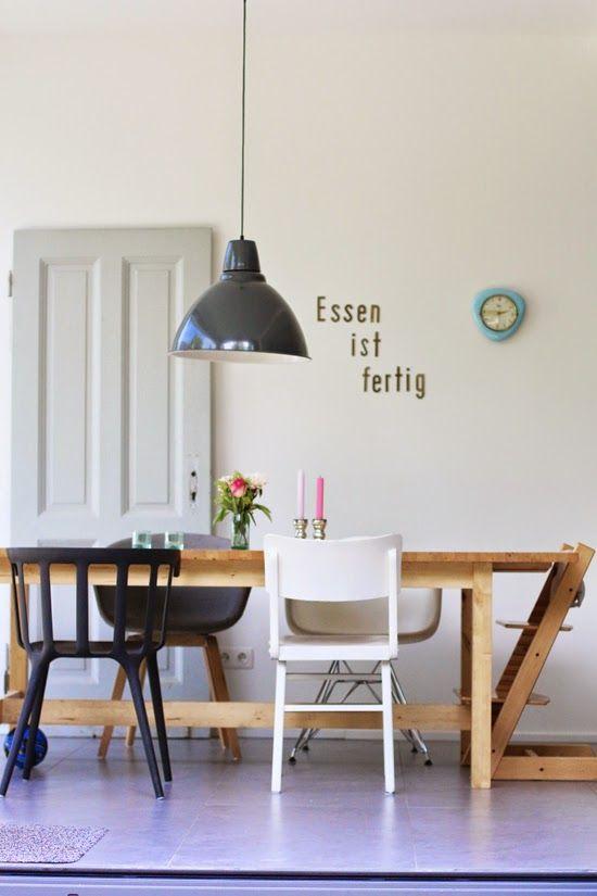 von hohlen und weißen wänden und meinem neuen vintage wandtattoo - wandtattoo küche bilder
