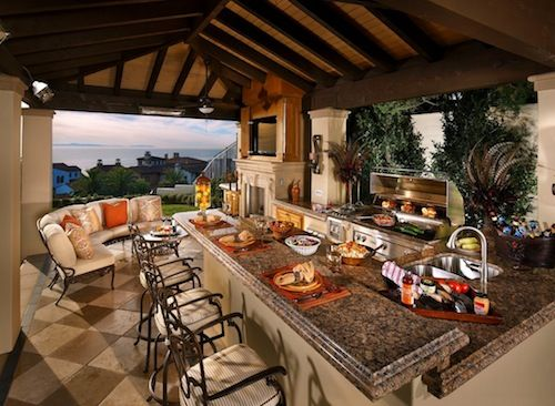 summer kitchen ideas wall art how to design the perfect outdoor living from choosing right appliances materials and climate concerns tips for a beautiful
