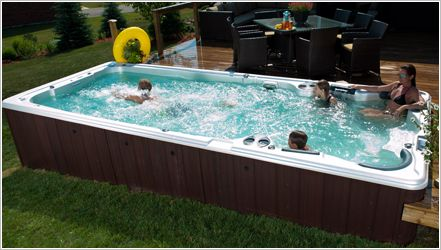 Why Choose Portable Spas By Ronny Anderson Swim Spa Landscaping Swim Spa Spa Pool