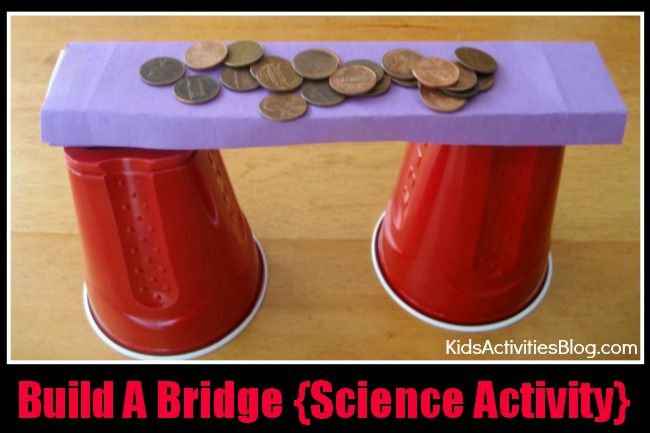 how to build a bridge for kids project