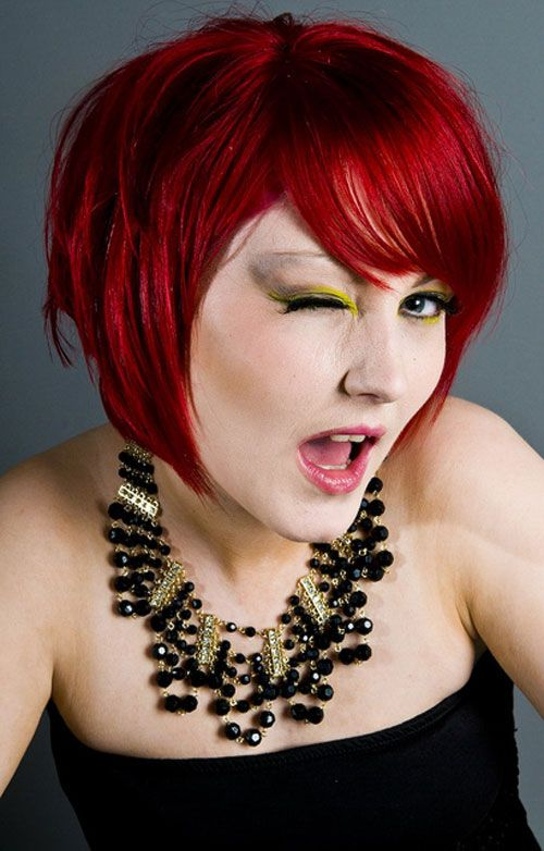 40 Stunning Short Red Hairstyles - Cool & Trendy Short Hairstyles ...