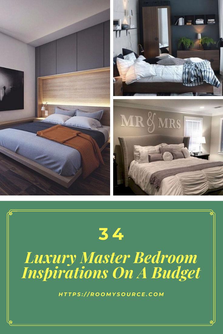 33+ Magnificient Master Bedroom Decorating Ideas #bedroominspiration
