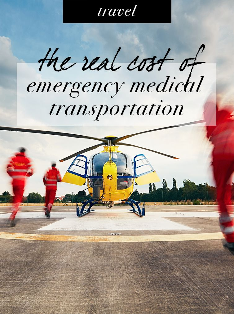 The real cost of emergency medical transportation