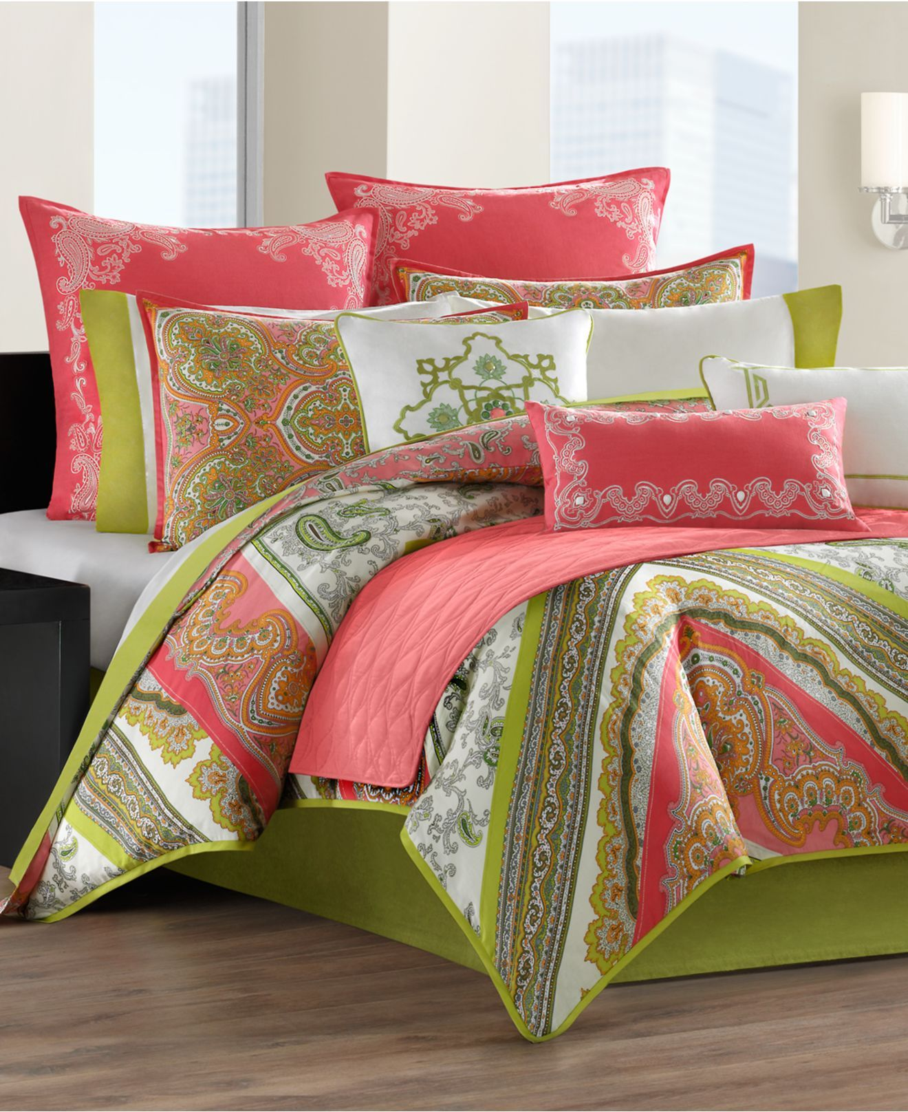 Echo Bedding Gramercy Paisley forter Sets Bedding Collections