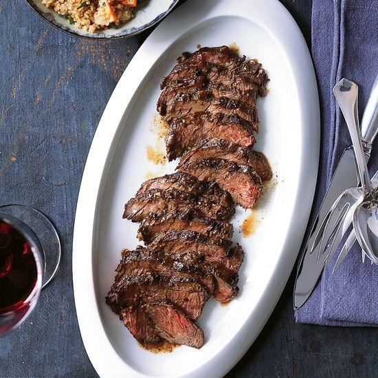 Hanger Steak with Warm Bulgur Salad | Recipe | Hanger ...