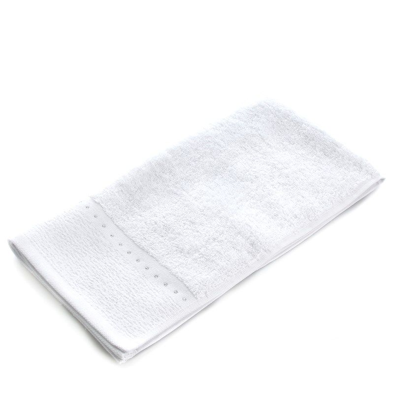 Rhinestone Trim Solid Hand Towel Rhinestone Trim Towel Hand Towels