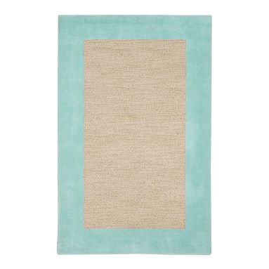 Classic Wool Border Rug Pool Potterybarnteen Brooke S
