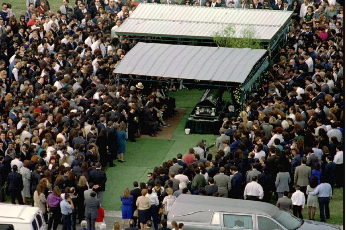 Photos Selena was buried 23 years ago this week in 2020