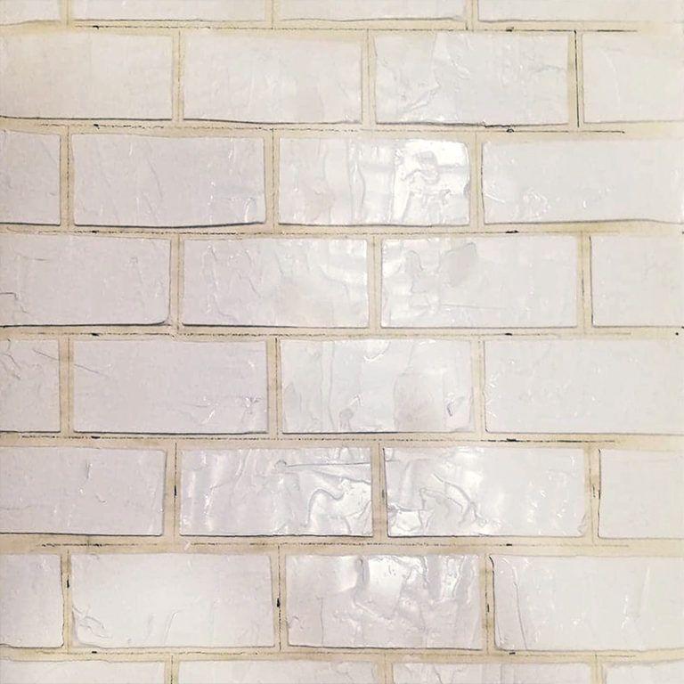 Realisation Des Fausses Briques Avec L Enduit Fausse Brique Brique Enduit De Rebouchage