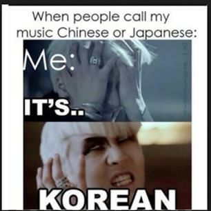 Kpop Vixx Haha Xd Using Poor Ravi For Such A Meme I Love It Though Because It Is True K Pop Isn T Chinese Japanese No Memes Kpop Funny Kpop Memes