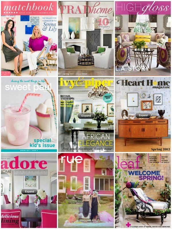 This Is A Great Cache Of Home Magazines Shelter Mag Fanatics