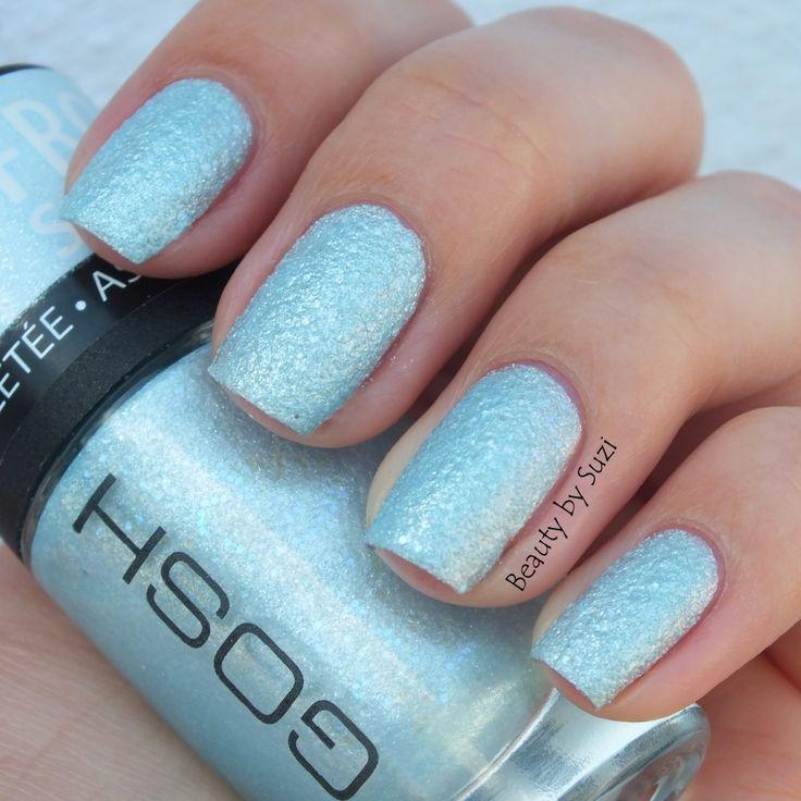 Gosh frosted blue nail polish | Nails | Blue nail polish, Nails ...