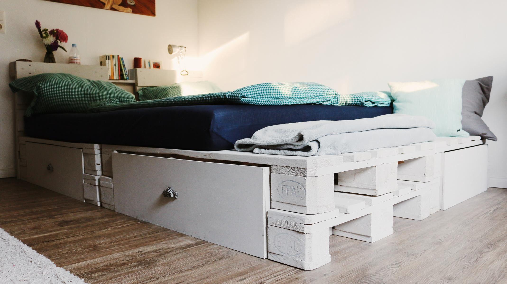 Bett Paletten Fresh Palettenbett Selber Bauen Kaufen Bett Aus Paletten Palettenbett Palettenbett Selber Bauen