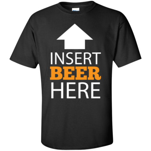 Beer Insert Here Men's Shirt - Last Beer Standing - #Beer #BeerShirt #BeerTees #BeerStuff $24.95