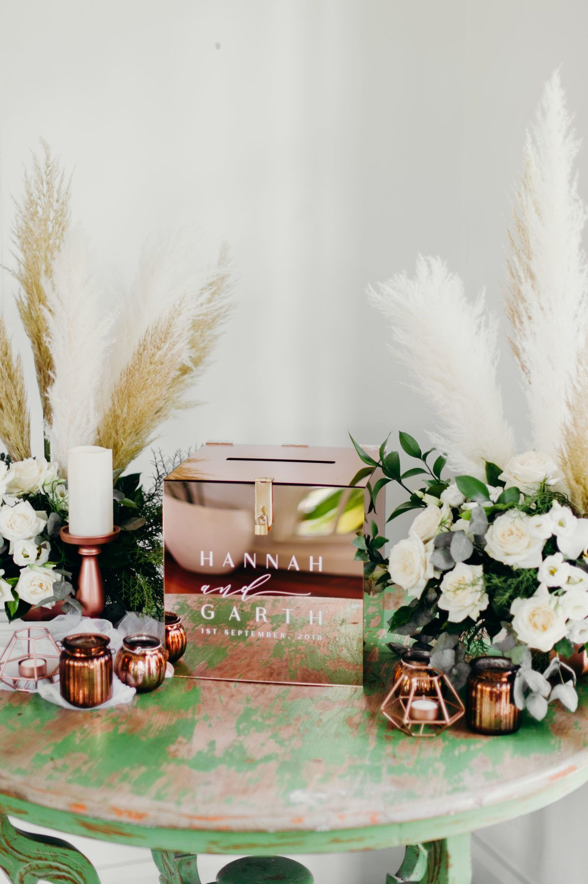 Read More Https Www Stylemepretty Com Vault Image 6839802 In 2020 Wedding Registry Etiquette Wedding Welcome Table Money Box Wedding