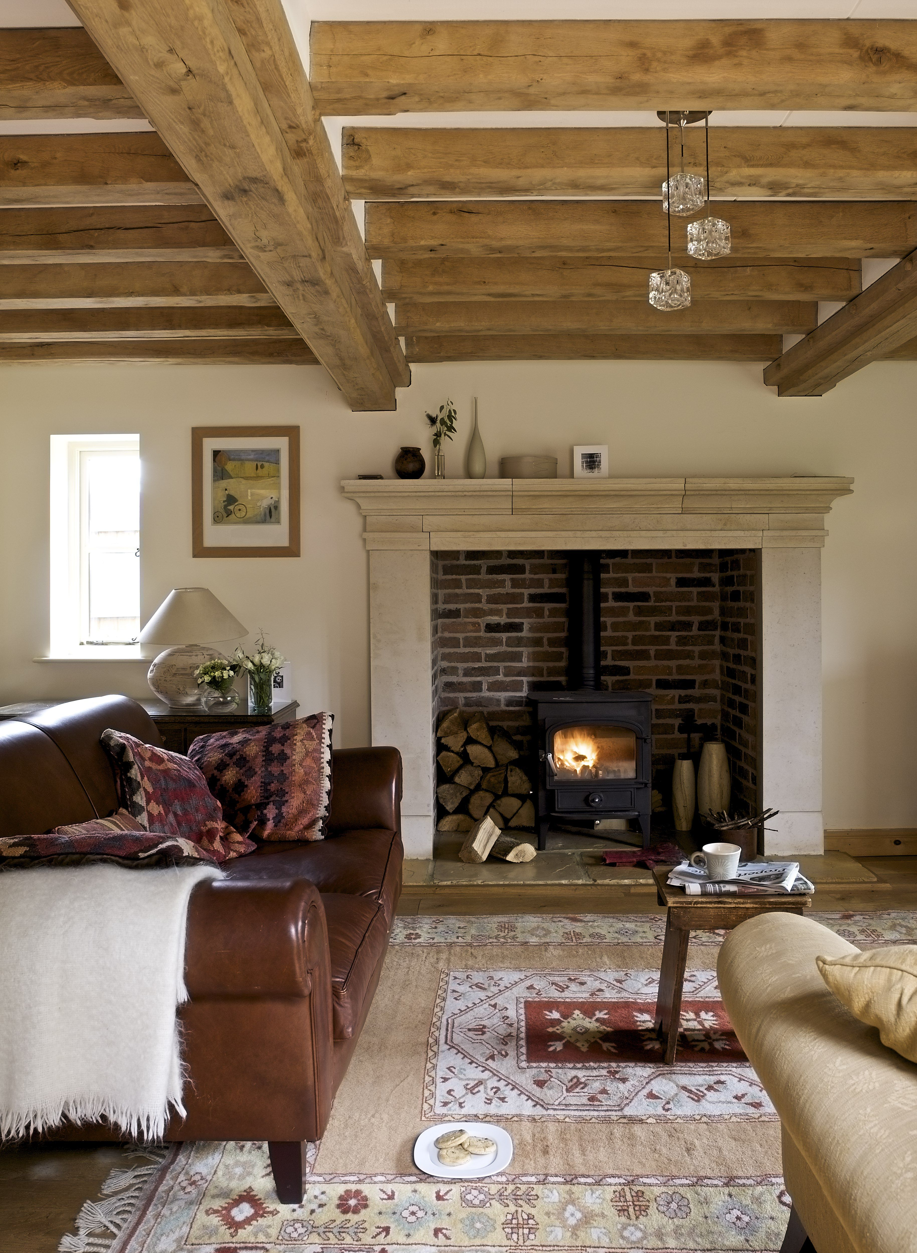 Wood Stove Living Room Design: Pin By Laura Campbell On Like This
