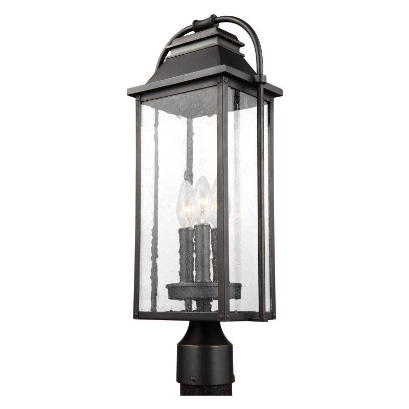 Murray Feiss Wellsworth Post Lantern Ol13207anbz
