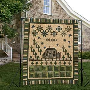 Peace Cottage: Scrappy Traditional Series Quilt Pattern 1 of 3 ... : cottage quilt designs - Adamdwight.com