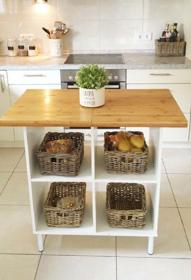 28 ideas para hacer una isla de cocina económica DIY | Mil Ideas de ...