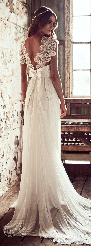 Wedding dress by anna campbell eternal heart collection