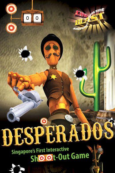 Cineblast Promotional Poster For Desperados Paradise City Poster Singapore