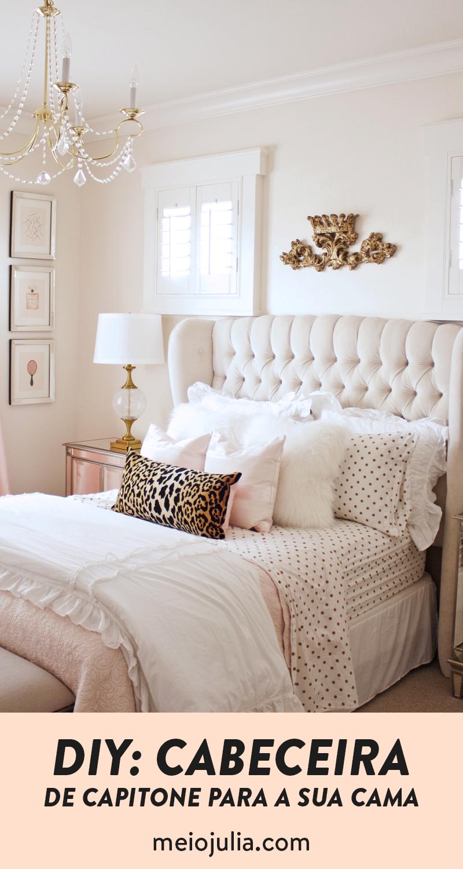 Como Fazer Uma Cabeceira De Capitone Barata Na Sua Casa Home Decor Bedroom Bedroom Inspirations Bedroom Makeover