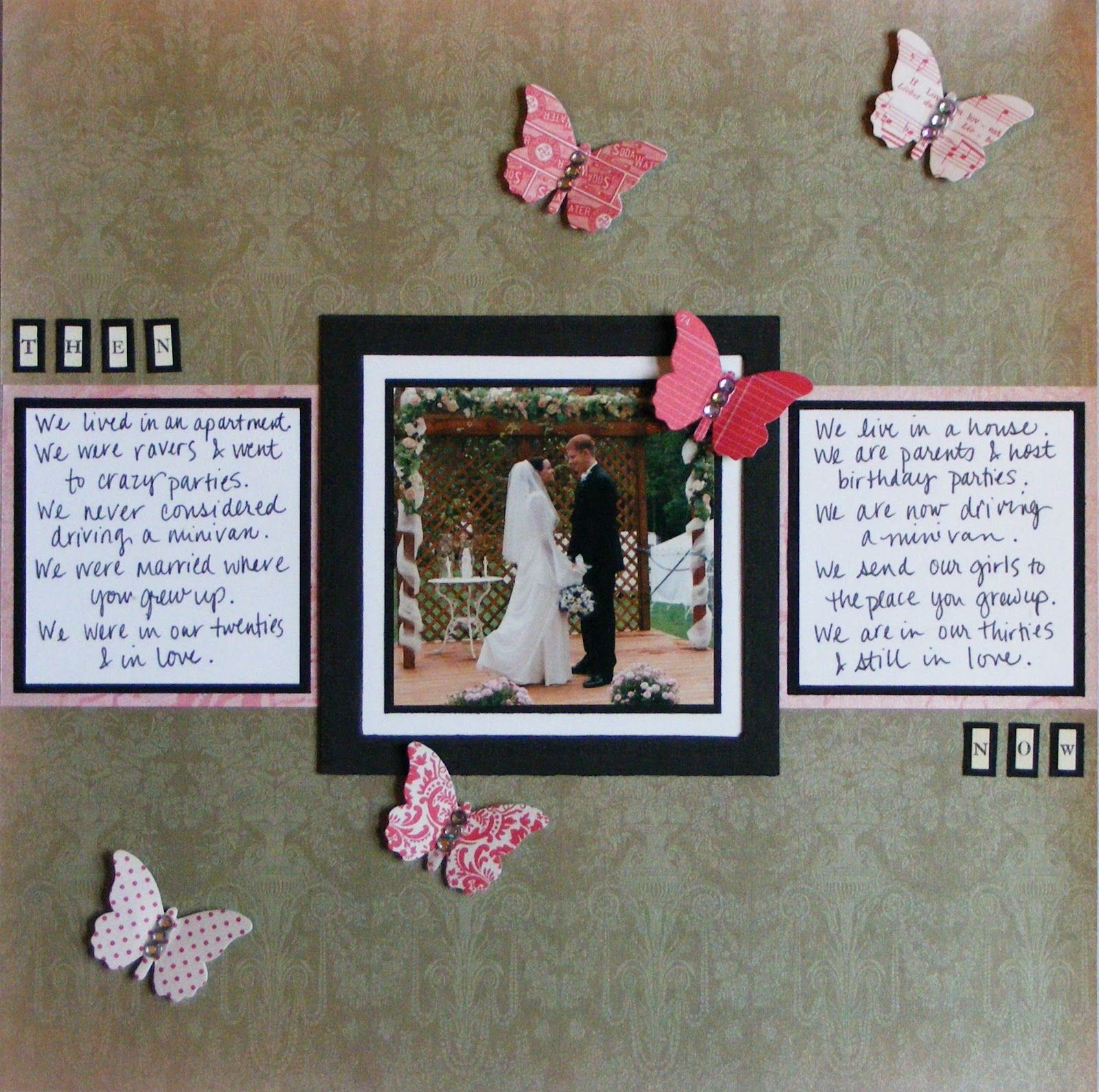 Wedding scrapbook page ideas wedding scrapbook pages pinterest anniversary scrapbook - Scrapbooking idees pages ...