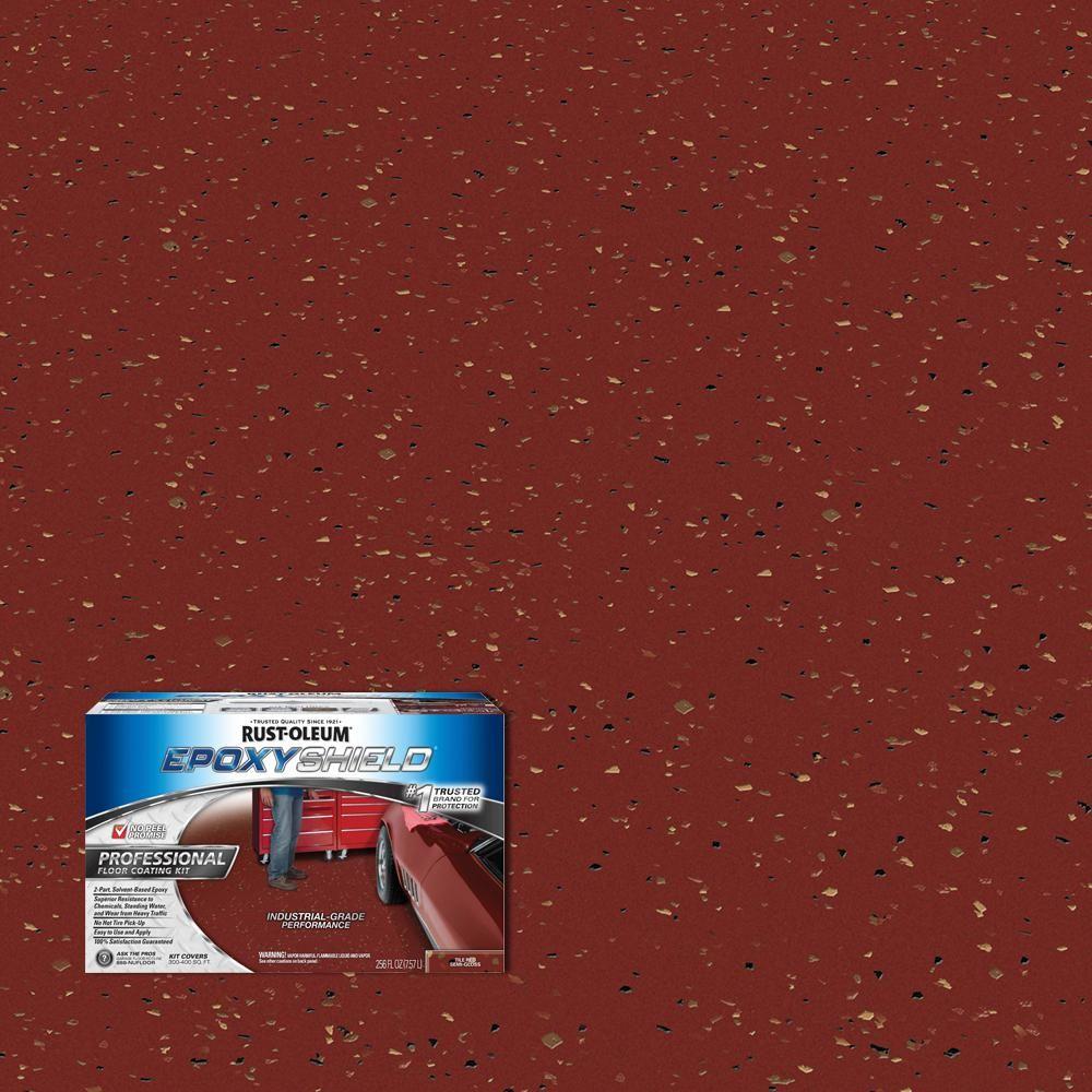Rust Oleum Epoxyshield 2 Gal Tile Red