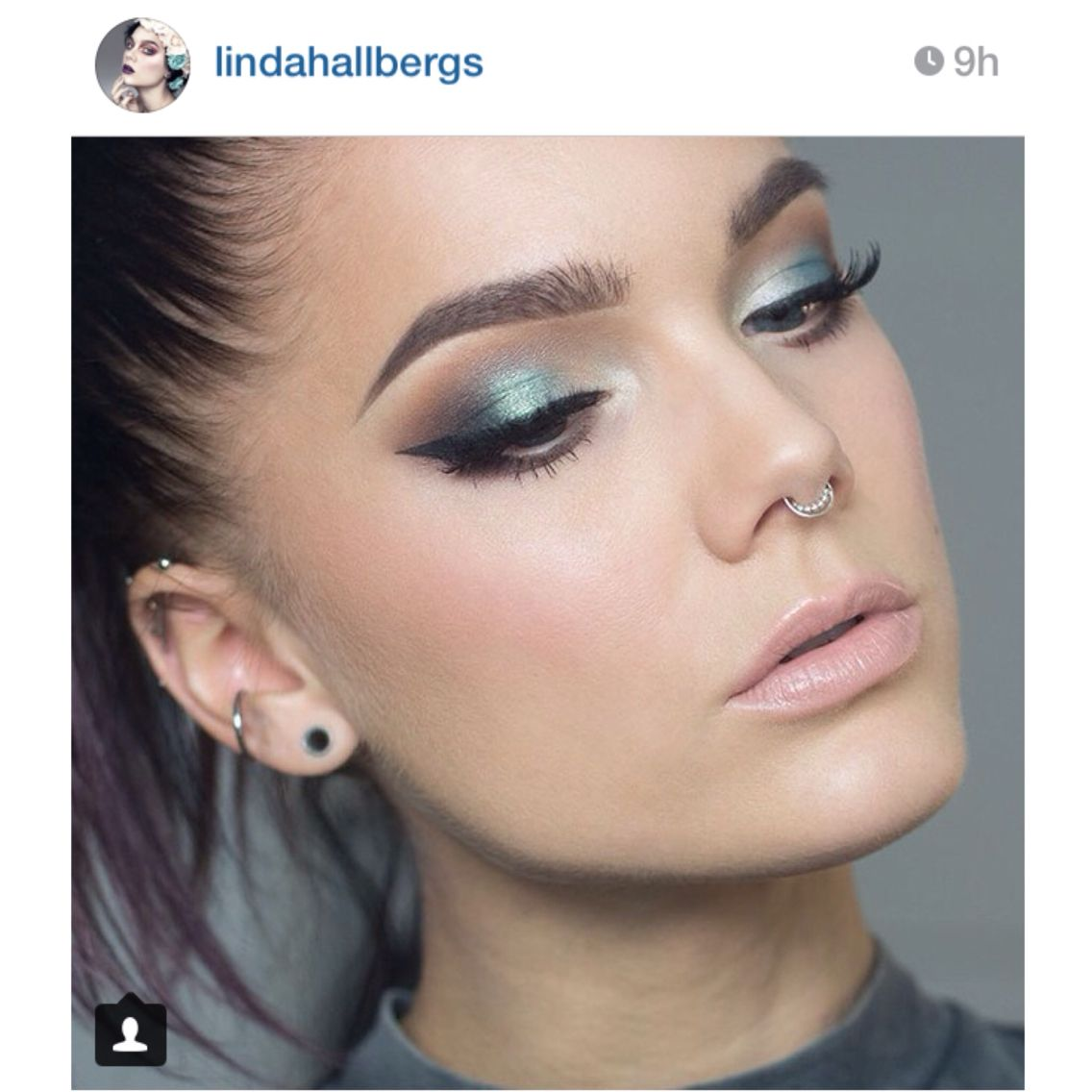 Linda Hallberg Makeup Eye Makeup Inspirations Piercings Septum