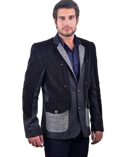 RNT 23 Contrasting Fabric Blazer Europe - Blazers - Apparel at Viomart.com