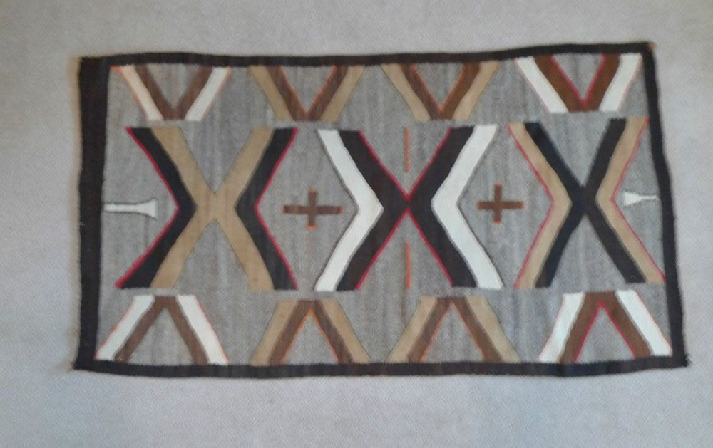 1930 S Navajo Wool Rug 36 X 65 From