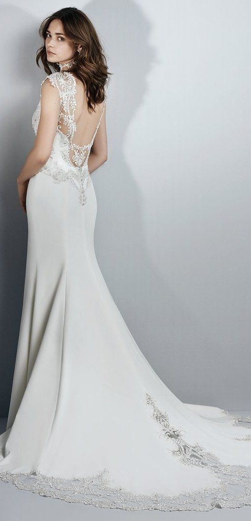 The Best Slip Style Wedding Dresses For Chic and Relaxed Brides ...