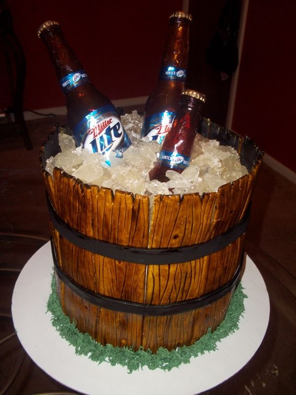 Great Idea For An Ice Bucket By The Bonfire For The
