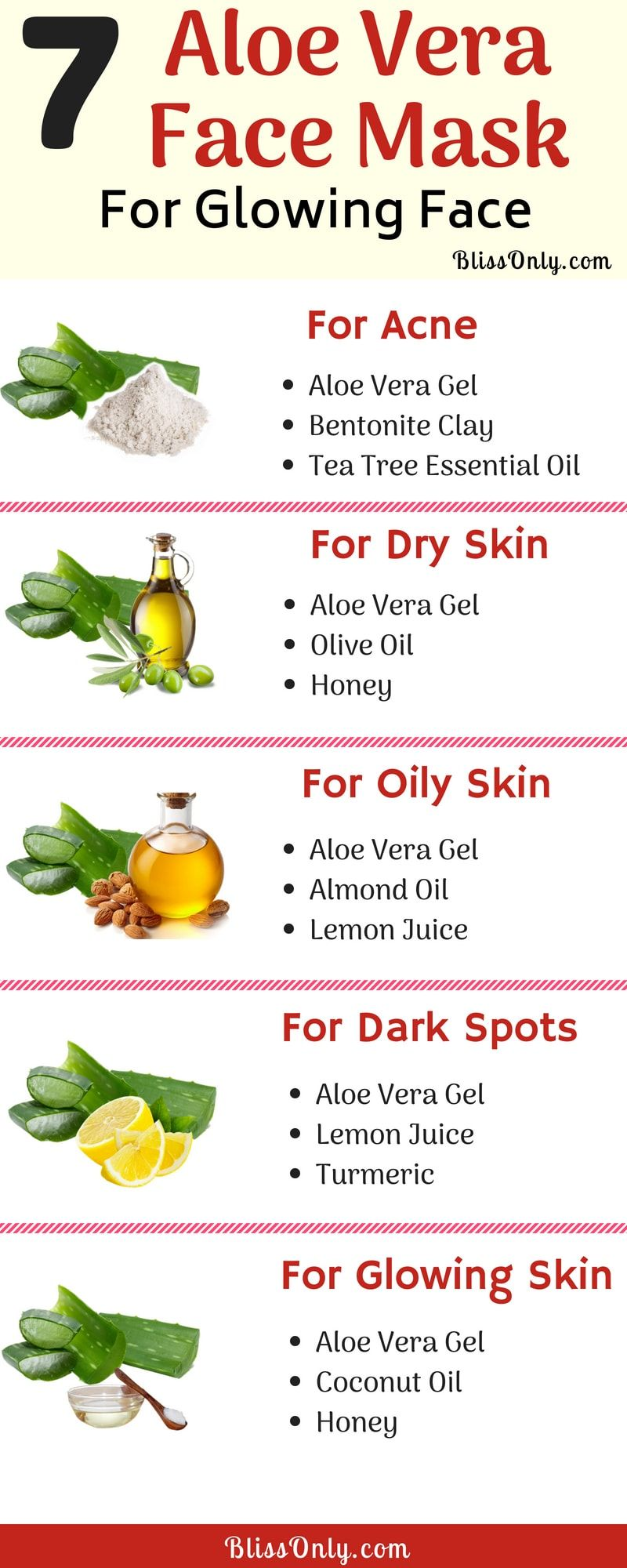 7 Aloe Vera Face Mask For Glowing Face Aloe vera for